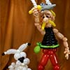 sculpture ballon asterix