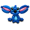 sculpture ballon lilo et stitch