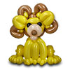 sculpture ballon lion