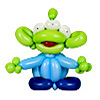 sculpture ballon disney toy story les aliens